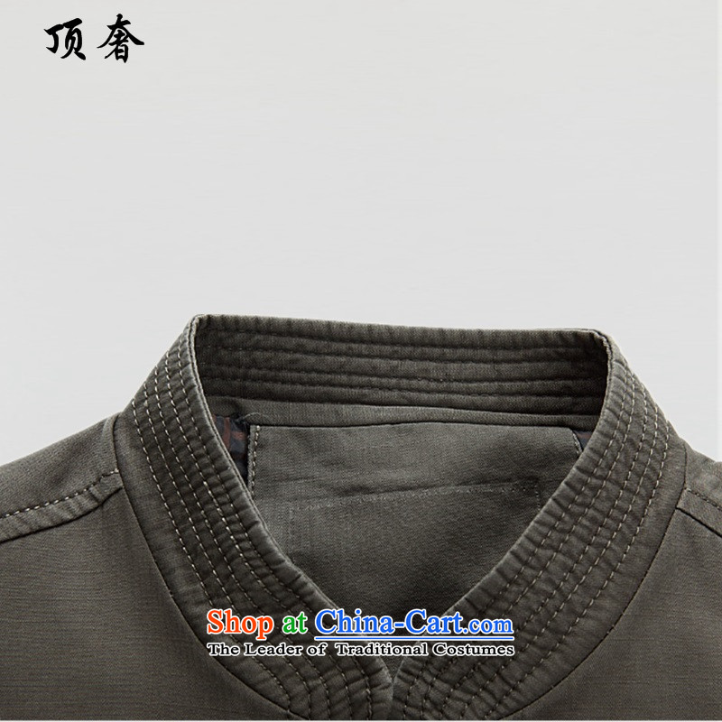 Top Luxury autumn and winter, Tang Dynasty Men long-sleeved shirt father installed life jackets for older version relaxd gift basket men national costumes Chinese male green) jacket聽180, top luxury shopping on the Internet has been pressed.