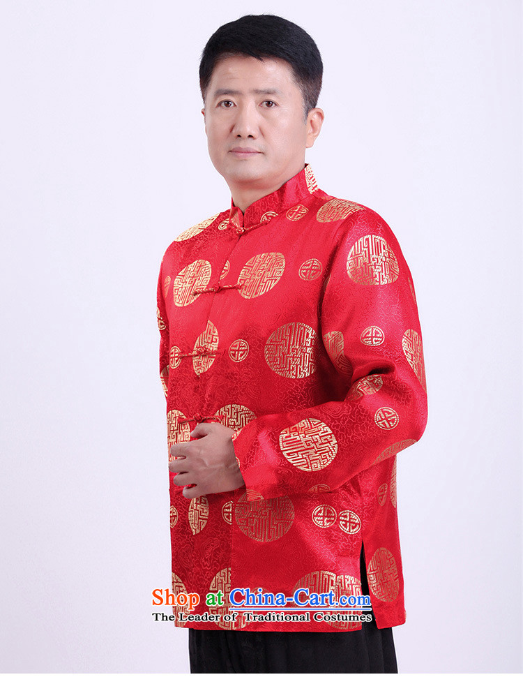 Silver armor in older men Tang dynasty male thick large padded coats men Tang dynasty winter coats and spring older persons Shou Tang dynasty brown聽XXL picture, prices, brand platters! The elections are supplied in the national character of distribution, so action, buy now enjoy more preferential! As soon as possible.
