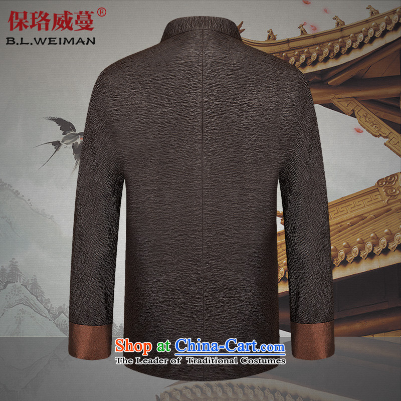 The Lhoba nationality Wei Overgrown Tomb in spring and autumn post new products in Tang Dynasty older men and packaged China Wind Jacket men's clothes, thread the thin black聽190/XXXL, warranty, Judy Wai (B.L.WEIMAN Overgrown Tomb) , , , shopping on the In