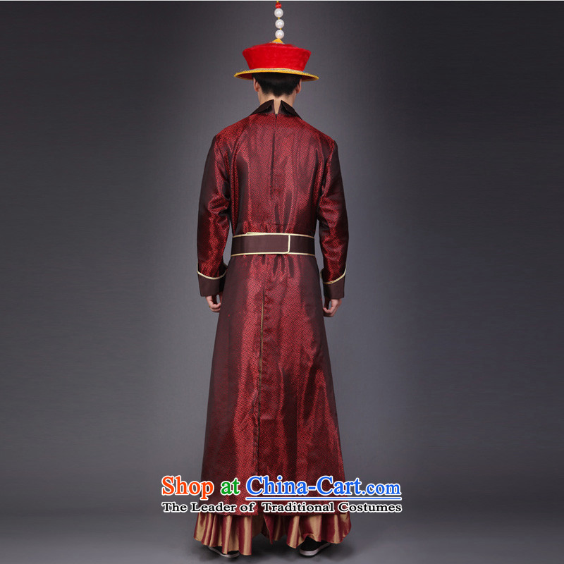 Time Syrian robes of the dragon, the emperor of the Qing Emperor Apparel clothing Zerubbabel costume Queen's clothing will stage performances videos clothing costumes pornographic pictures, prices, brand platters! The elections are supplied in the national character of distribution, so action, buy now enjoy more preferential! As soon as possible.