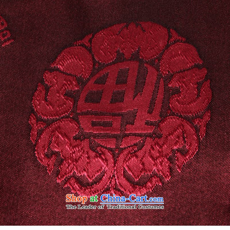 8SE thick 2015 autumn and winter new elderly men Tang dynasty long-sleeved sweater China wind-cheung sui t-shirt wine red 185, 8SE thick , , , shopping on the Internet