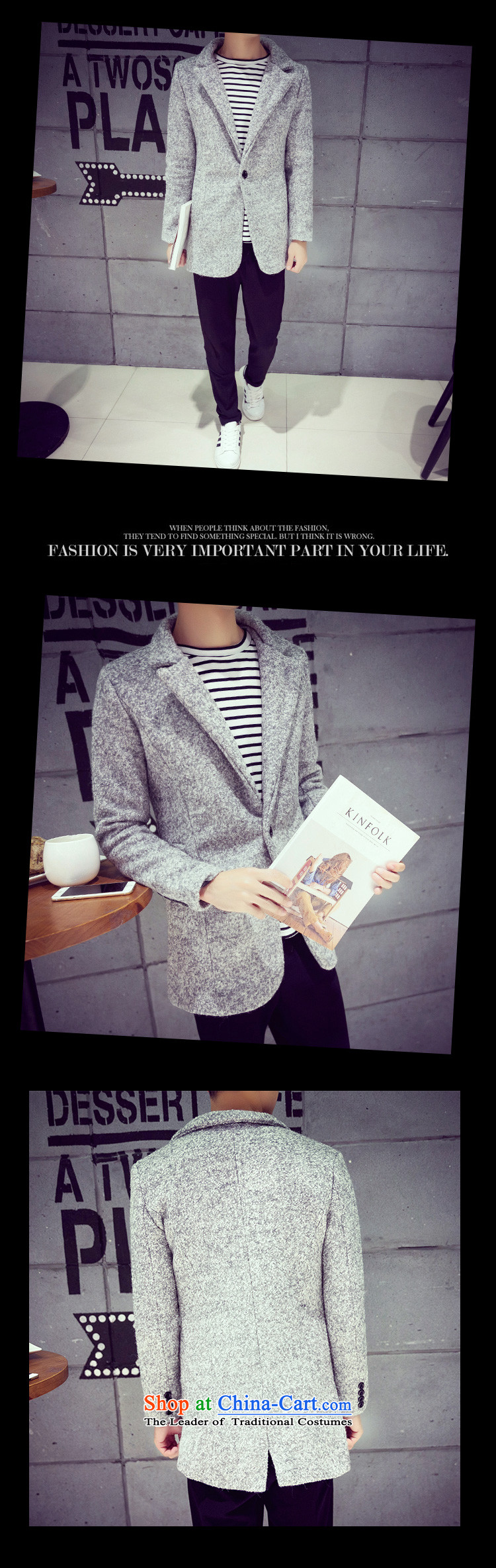 Mrs Rafael Hui Carter, 20152015 autumn and winter new Korean men in Sau San gross circle be long coats snowflake gray?? jacket carbon聽XXL picture, prices, brand platters! The elections are supplied in the national character of distribution, so action, buy now enjoy more preferential! As soon as possible.