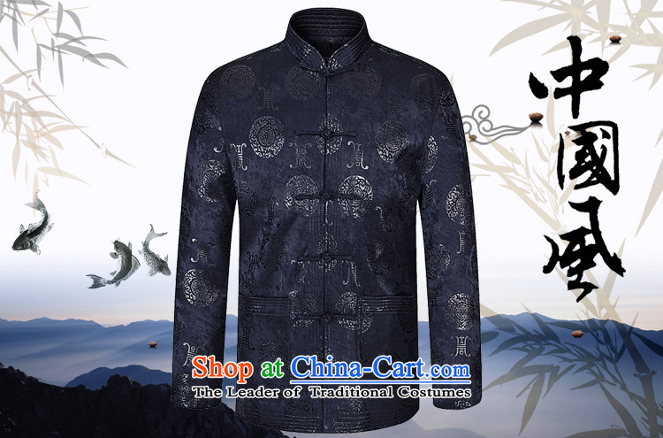 Bai Home Chinese Ethnic Festo Han-tang jackets and long-sleeved autumn in my father loaded with single elderly men yi red 180 pictures, prices, brand platters! The elections are supplied in the national character of distribution, so action, buy now enjoy more preferential! As soon as possible.