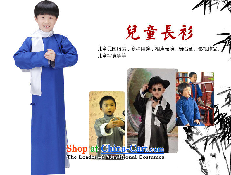 The Republic of Korea, Syrian children ancient time wearing gowns style robes boy comic dialogs will stage size cheongsams interludes May-fourth young students with gray聽photo 150CM, prices, brand platters! The elections are supplied in the national character of distribution, so action, buy now enjoy more preferential! As soon as possible.