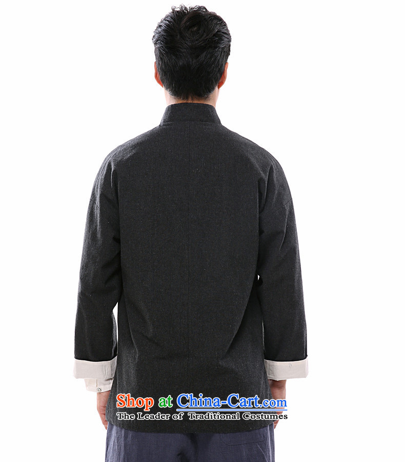 Azzu defense (azouari) China wind of autumn and winter men long-sleeved jacket Tang detained disc Chinese linen men Han-black聽L picture, prices, brand platters! The elections are supplied in the national character of distribution, so action, buy now enjoy more preferential! As soon as possible.