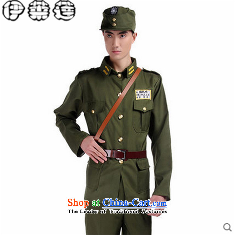 Hirlet Ephraim Fall 2015 new kuomintang spy agents American forces wearing apparel agents of the anti-Japanese photo album costumes costumes uniformed men wearing male reshuffled officers?175
