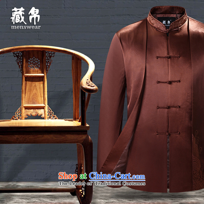 9The autumn and winter possession of Tang Dynasty cotton coat large grandfather father loaded in older banquet dress China wind Chinese lady?7,712 170/M color