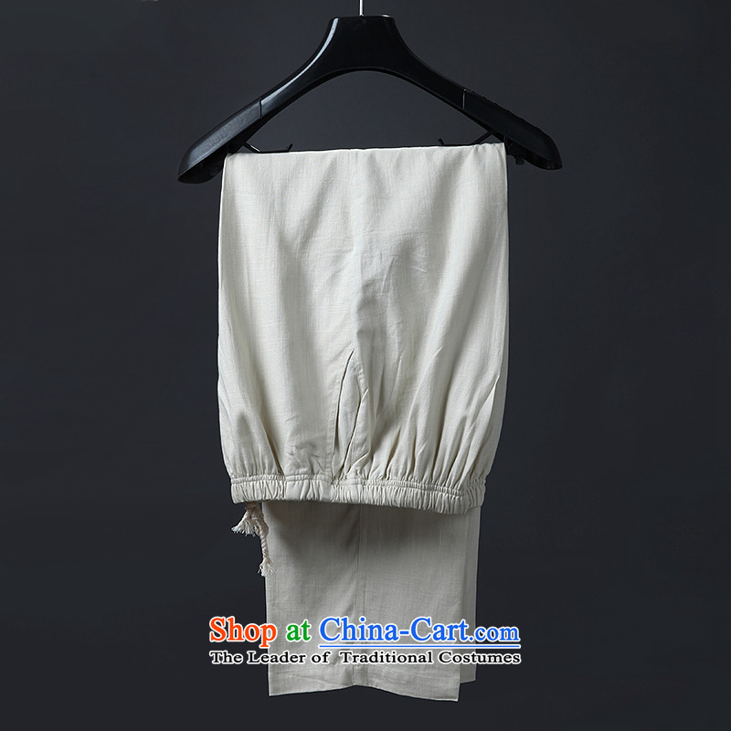 Genuine friendship and possession of long-sleeved shirt, autumn and winter Tang dynasty, forming the Netherlands cotton linen china wind in the national costumes of older kit m White Kit聽9possession has been pressed 190, shopping on the Internet
