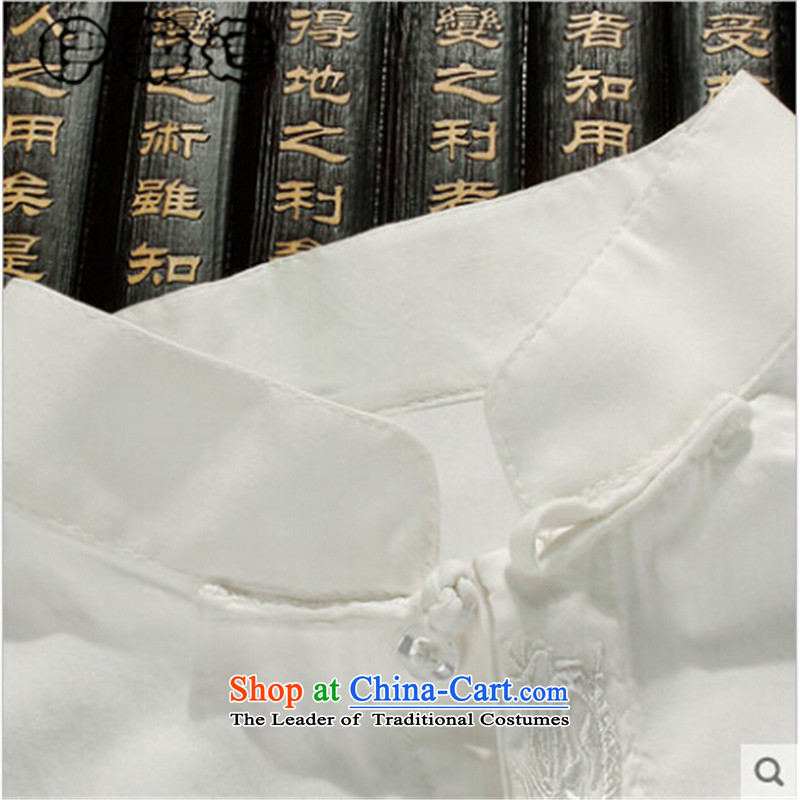 Hirlet Ephraim of autumn and winter 2015 New Product men of ethnic Tang dynasty shirt with the elderly in the grandfather father Men's Shirt China wind leisure men map color聽XXL, Yele Ephraim ILELIN () , , , shopping on the Internet