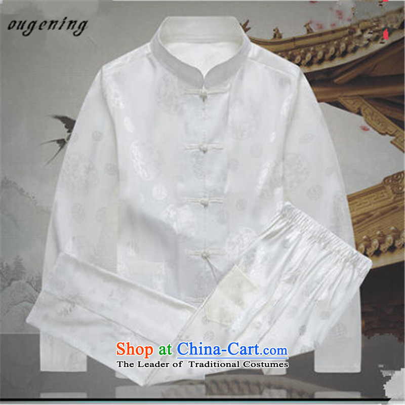 The OSCE, 2015 autumn and winter lemonade new product men of ethnic Chinese PU yi tang jackets in older men and Chinese shirt PU along the River During the Qingming Festival 聽in Europe 175 (ougening lemonade) , , , shopping on the Internet