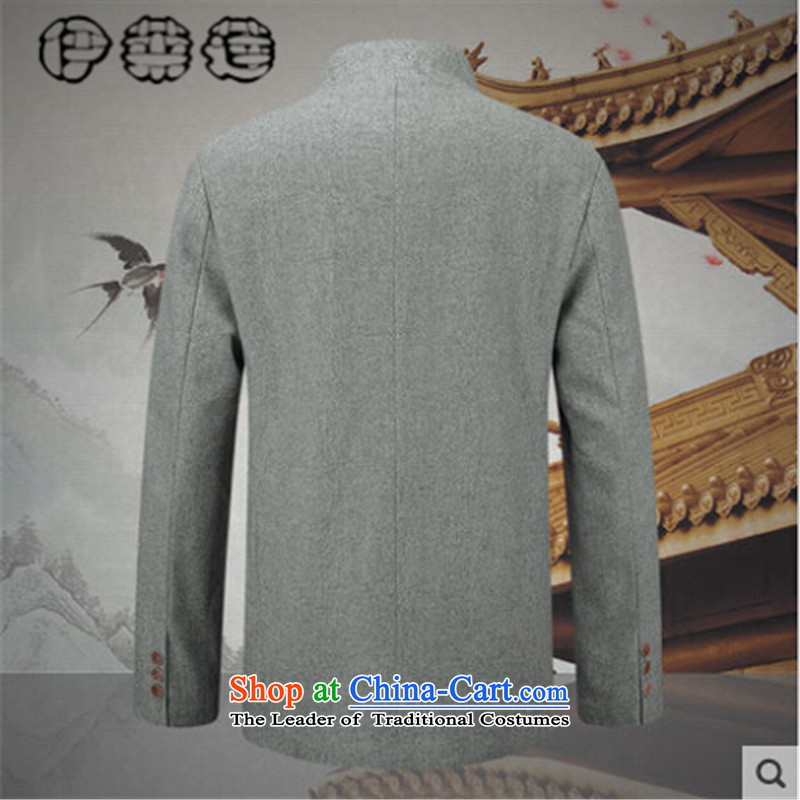 Hirlet Ephraim 2015 autumn and winter New China wind men's woolen a collar men use Sub Male Tang jackets men's Chinese elderly in the leisure T-shirt white聽180, Electrolux Ephraim ILELIN () , , , shopping on the Internet