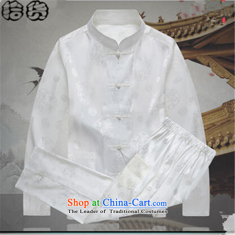 The 2015 autumn pick new father grandfather Tang Dynasty Chinese boxed kit men China wind along the River During the Qingming Festival  of nostalgia for the older persons in the kit chinese red聽180, pickup (shihuo) , , , shopping on the Internet