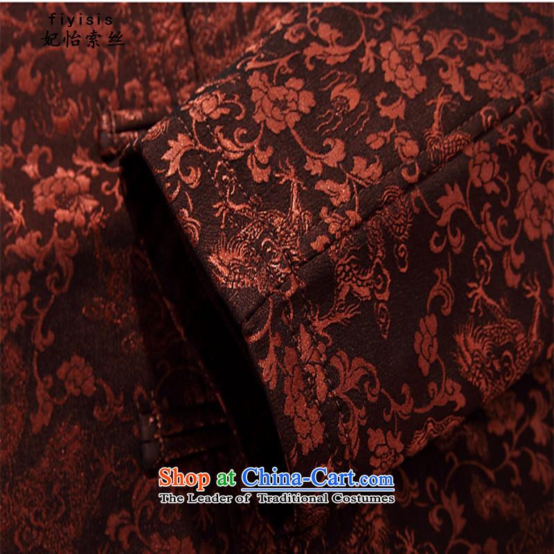 Princess Selina Chow (fiyisis) autumn and winter, ethnic Tang jackets loose version older Han-tang kit jacket collar disc Clip Black聽XXXL/190, Princess Selina Chow (fiyisis) , , , shopping on the Internet