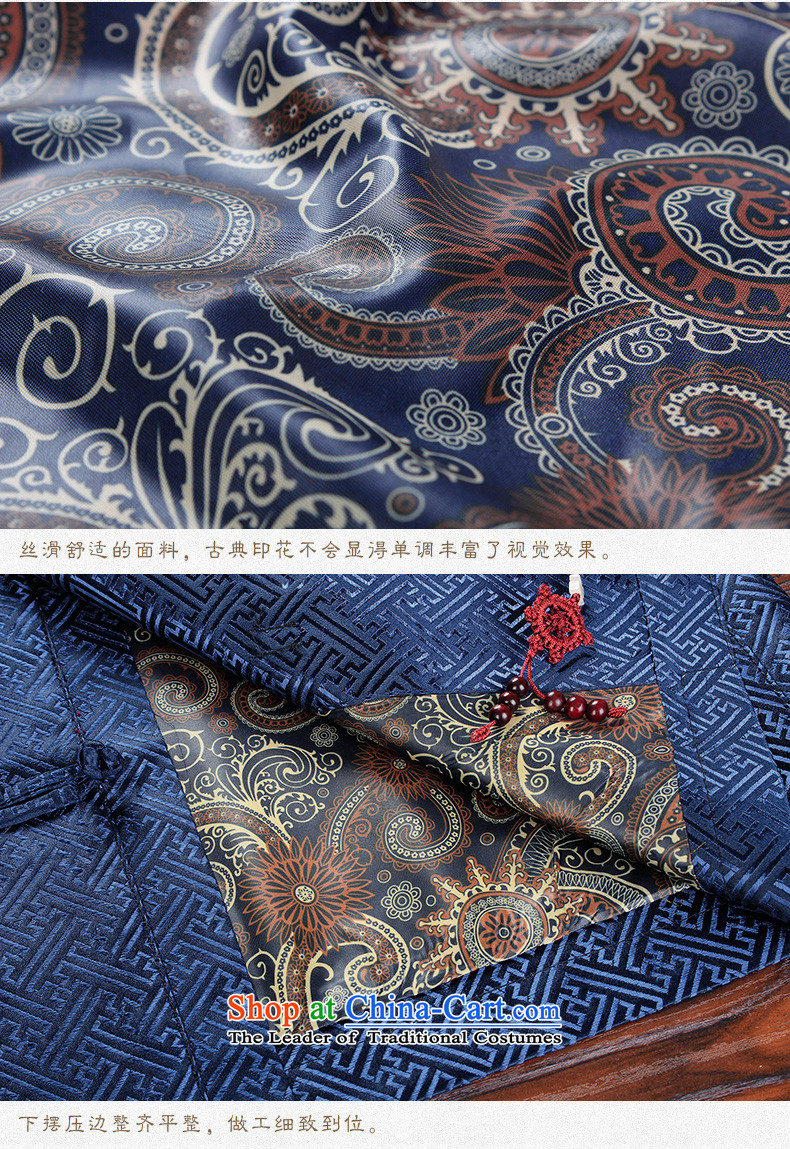 Hirlet Ephraim 2015 autumn and winter in the new age of men Tang blouses and China wind jacket of ethnic Chinese Dress Dad Grandpa replacing contemptuous of聽175 pictures, prices, brand platters! The elections are supplied in the national character of distribution, so action, buy now enjoy more preferential! As soon as possible.