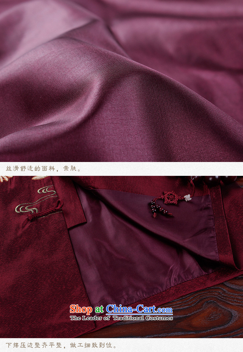 Hirlet Ephraim 2015 autumn and winter new product of older persons in the national Wind Jacket coat Dad Tang Grandpa replacing Tang blouses men China wind Chinese dress jacket auspicious red聽185 pictures, prices, brand platters! The elections are supplied in the national character of distribution, so action, buy now enjoy more preferential! As soon as possible.