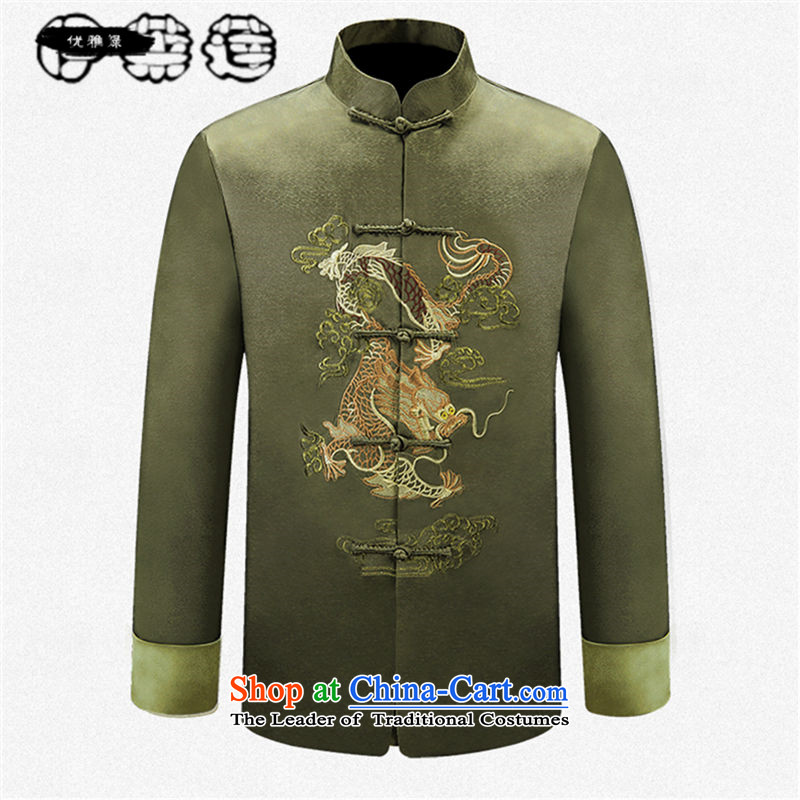 Hirlet Ephraim 2015 autumn and winter new product of older persons in the national Wind Jacket coat Dad Tang Grandpa replacing Tang blouses men China wind Chinese dress jacket auspicious red聽185, Electrolux Ephraim ILELIN () , , , shopping on the Internet