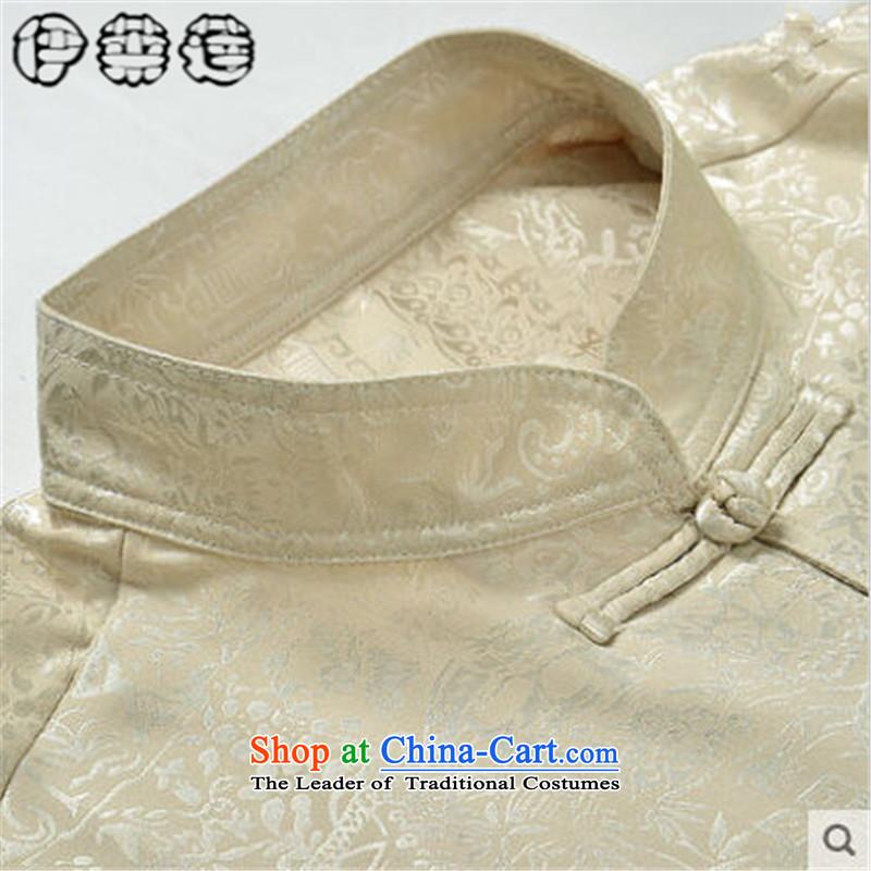 Hirlet Ephraim Fall 2015 New China wind load father men of ethnic Chinese PU yi tang jackets in older men shirt PU classic blue聽185, Electrolux Ephraim ILELIN () , , , shopping on the Internet