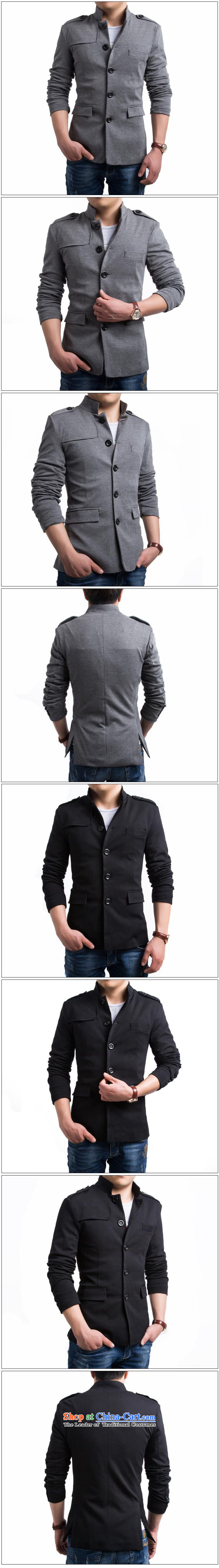 The English fashion Men's Mock-Neck small suit Chinese tunic聽Y015 Sau San聽gray聽M picture, prices, brand platters! The elections are supplied in the national character of distribution, so action, buy now enjoy more preferential! As soon as possible.