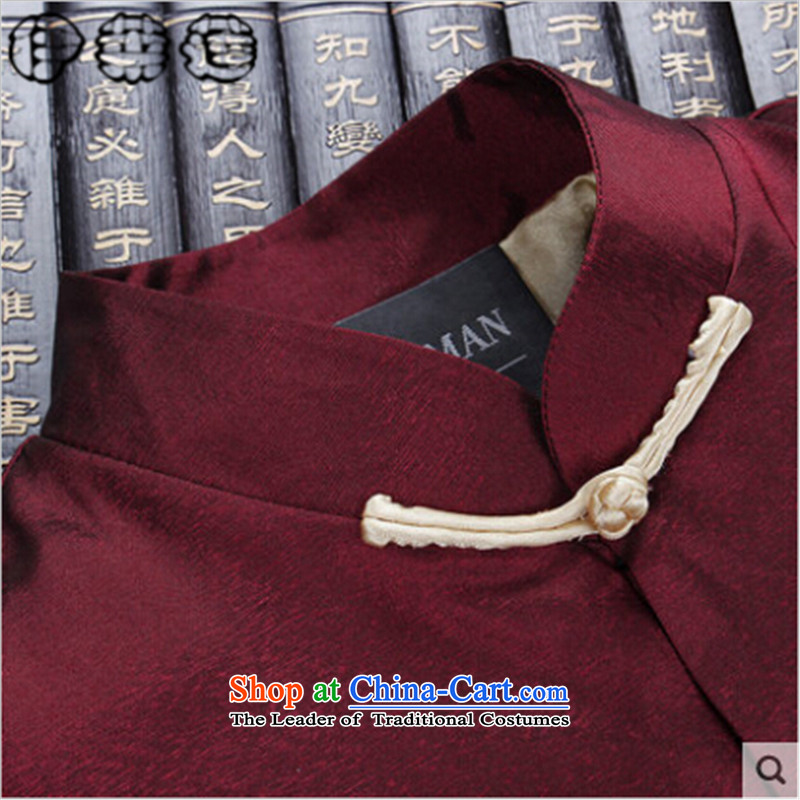 Hirlet Ephraim Fall 2015 new retro leisure China wind men's jackets father grandfather Tang replacing Chinese Ethnic Male Male Red聽190, shirts, Ephraim ILELIN () , , , shopping on the Internet
