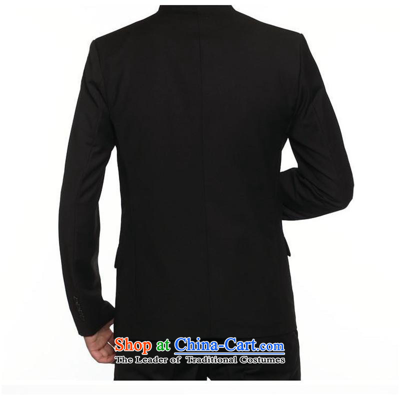 Men's Chinese tunic stylish eight tablets of Sau San Lisping Men's Mock-Neck trend聽closely involved in black Chinese tunic (rvie.) , , , shopping on the Internet