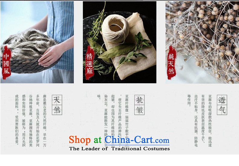 Renowned China wind retro men Chinese loose long-sleeved Chinese collar disc detained Chinese tunic duplex Tang Dynasty Yi put on men's kung fu shirt Han-Light GrayXXXL picture, prices, brand platters! The elections are supplied in the national character of distribution, so action, buy now enjoy more preferential! As soon as possible.