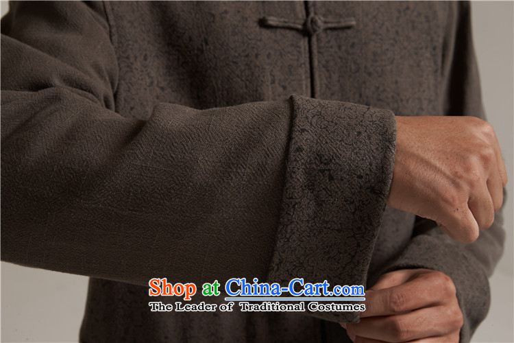 Fudo de saint de聽2015 autumn and winter new products men Tang dynasty China wind men robe older leisure Tang Dynasty to warm jacket, gray and green聽3XL/52 picture, prices, brand platters! The elections are supplied in the national character of distribution, so action, buy now enjoy more preferential! As soon as possible.