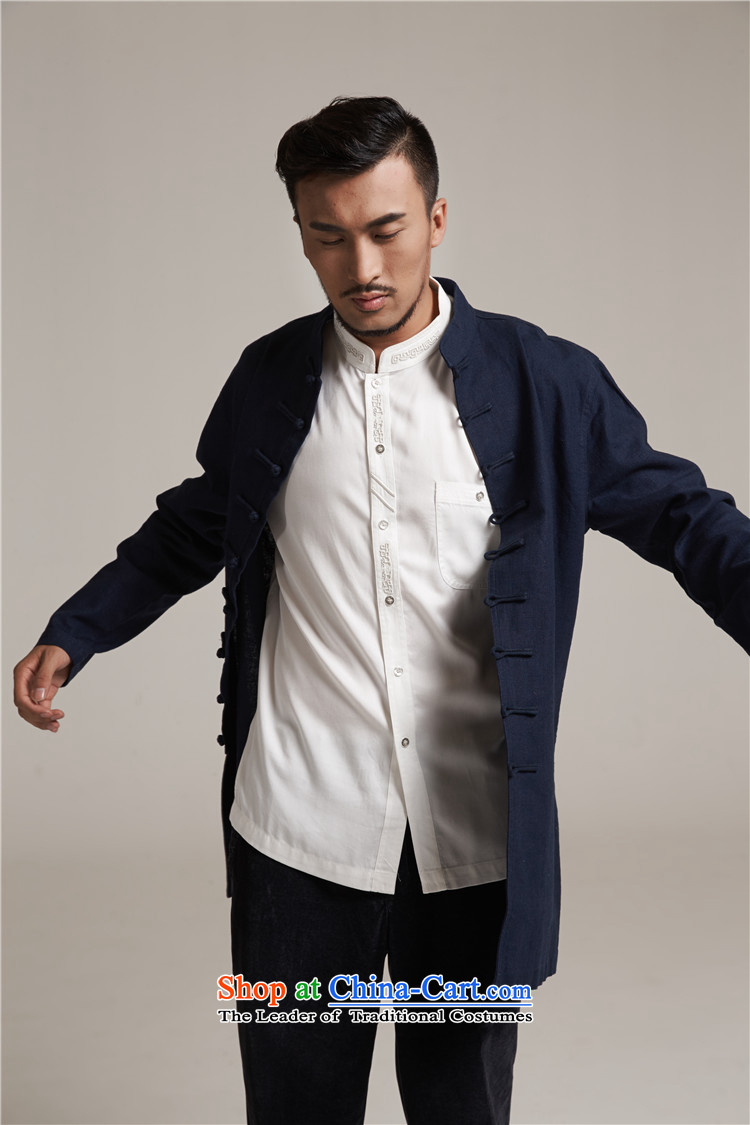 Fudo chin yat de聽2015 autumn and winter new products men Tang dynasty China wind men in long jacket, older leisure jacket China wind聽M/44 Dark Blue Photo, prices, brand platters! The elections are supplied in the national character of distribution, so action, buy now enjoy more preferential! As soon as possible.