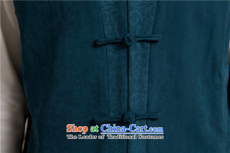 De Fudo Tang dynasty, Thick), a Chinese Kampala shoulder China wind menfall 2015 new products Chinese clothing blue and green2XL/50 picture, prices, brand platters! The elections are supplied in the national character of distribution, so action, buy now enjoy more preferential! As soon as possible.