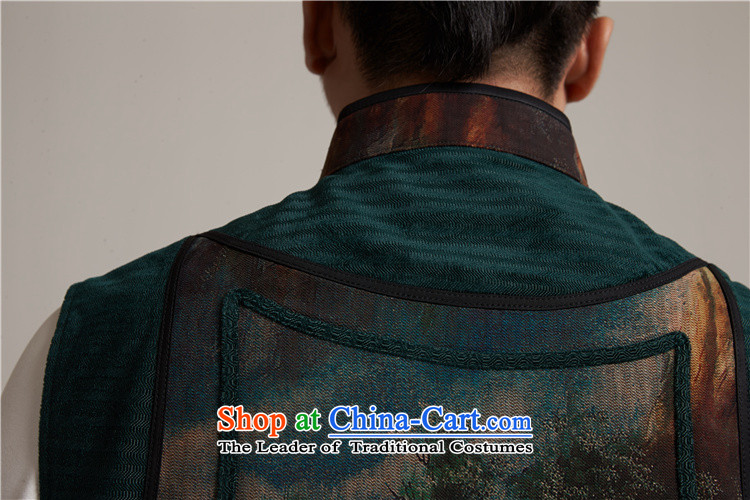 Fudo de to cloud of incense yarn upscale male Tang Gown, a leisure in improved shoulder windproof warm China wind suit聽XL/48 picture, prices, brand platters! The elections are supplied in the national character of distribution, so action, buy now enjoy more preferential! As soon as possible.