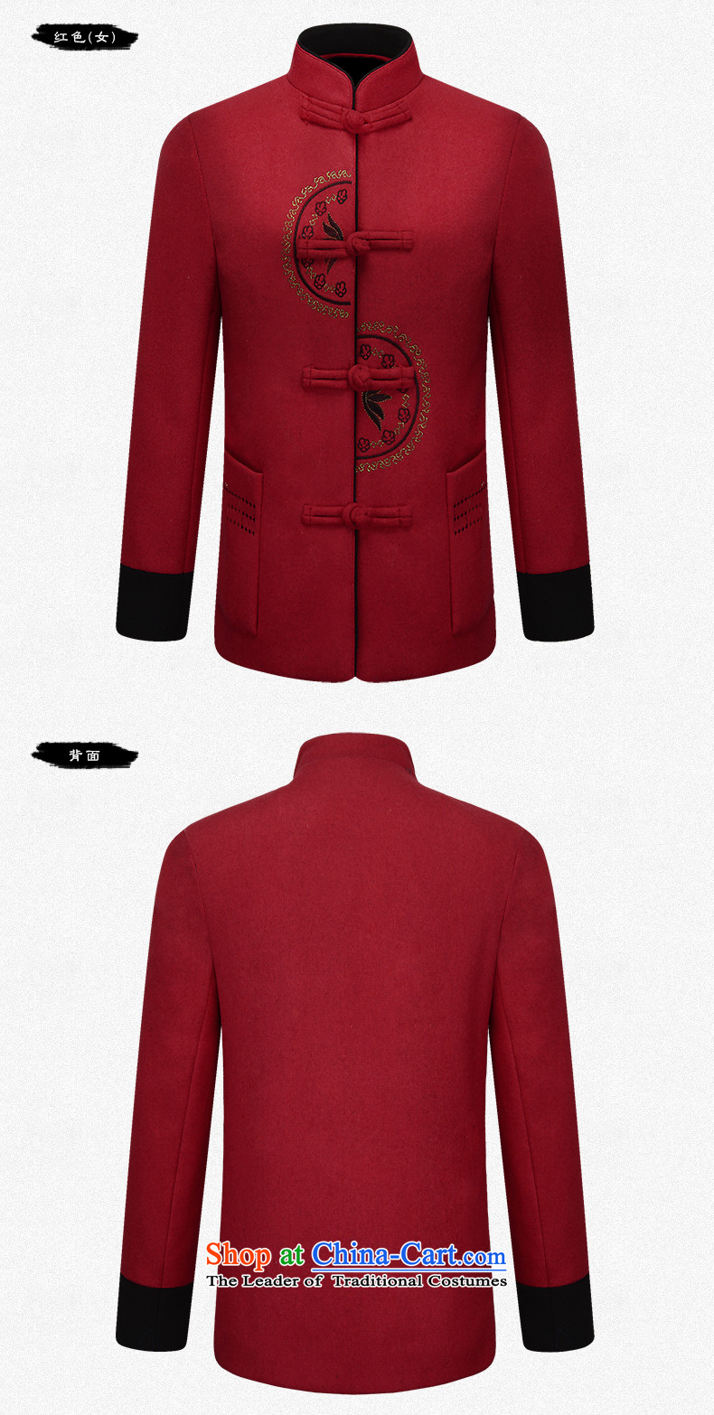 Hirlet Ephraim of autumn and winter 2015 new products for older couples Tang dynasty men wool a grandmother grandfather replacing elderly men and women jacket coat red stamp female M picture, prices, brand platters! The elections are supplied in the national character of distribution, so action, buy now enjoy more preferential! As soon as possible.