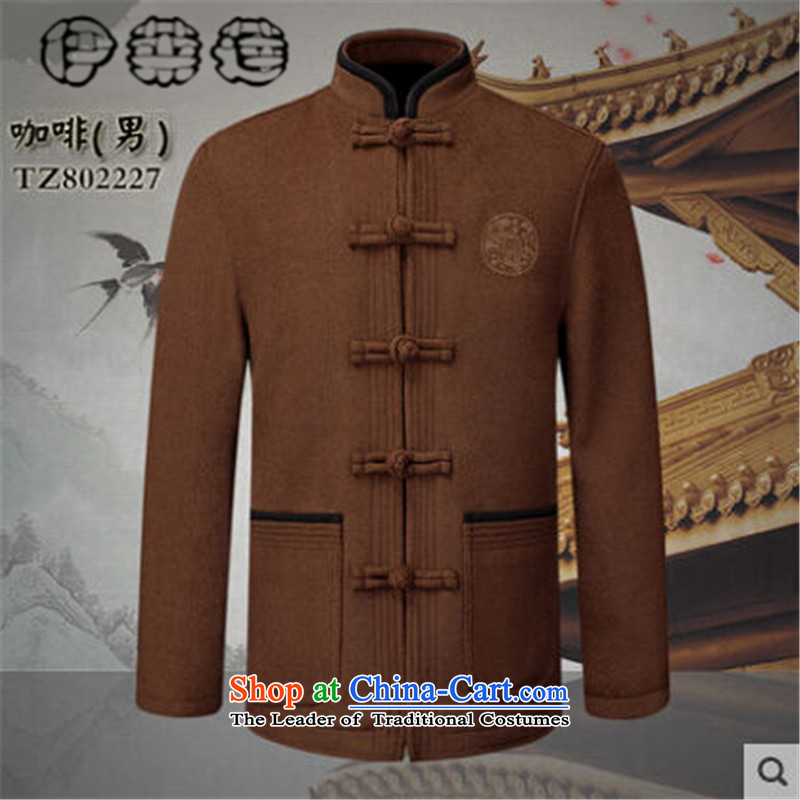 Hirlet Ephraim of autumn and winter 2015 new products for older couples Tang dynasty men wool a grandmother grandfather replacing elderly men and women jacket coat red stamp female M Yele Ephraim ILELIN () , , , shopping on the Internet