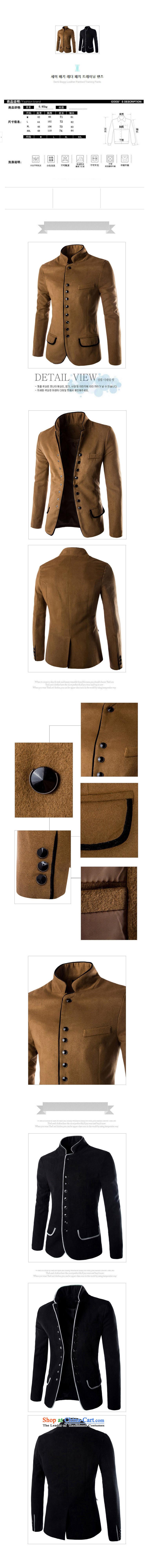 Dan Jie Shi 2015 Autumn new gross Small suit male fashion?