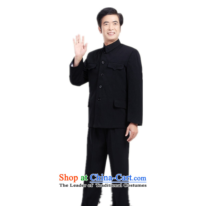 The name of the 2015 Winter Olympics in Europe_ older Chinese tunic male kit older persons serve more than Grandpa Pocket Zhongshan replacing elderly lapel kit extra聽35 yards pants聽XXL