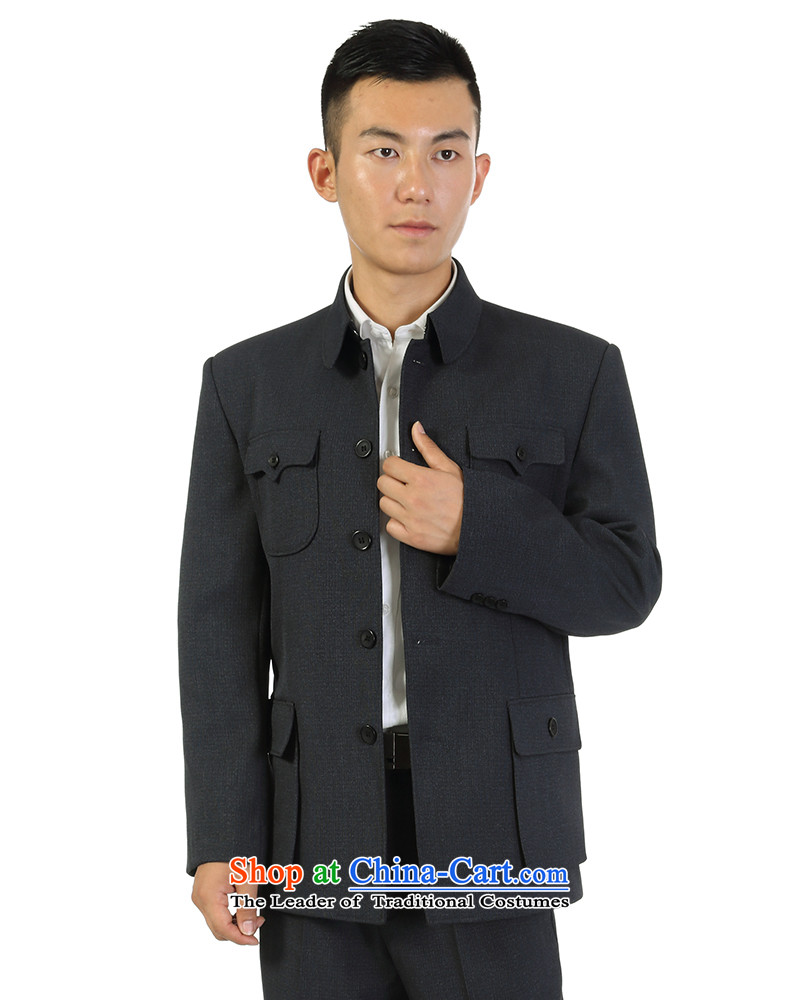 Yan flying to the elderly in the men's Chinese tunic kit retro business and leisure package lapel loose older persons jacket classic two kits Because five holes out of74 pictures map color, prices, brand platters! The elections are supplied in the national character of distribution, so action, buy now enjoy more preferential! As soon as possible.