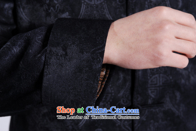 Shanghai, optimize ipo men's jackets thick cotton plus add-Tang Tang replacing men long-sleeved sweater Chinese Dragon Tang blouses聽-A black聽L picture, prices, brand platters! The elections are supplied in the national character of distribution, so action, buy now enjoy more preferential! As soon as possible.