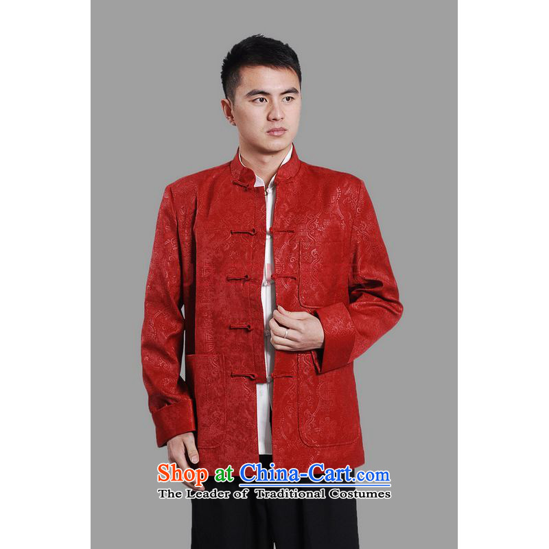 Shanghai, optimize ipo men's jackets thick cotton plus add-Tang Tang replacing men long-sleeved sweater Chinese Dragon Tang blouses聽-A black聽, L, Shanghai, optimization options , , , shopping on the Internet