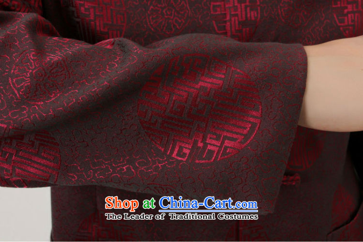 Shanghai, optimization options in Tang Dynasty older collar China wind dress too Shou Yi wedding services will Chinese male Tang Jacket聽-B Black聽XL Photo, prices, brand platters! The elections are supplied in the national character of distribution, so action, buy now enjoy more preferential! As soon as possible.