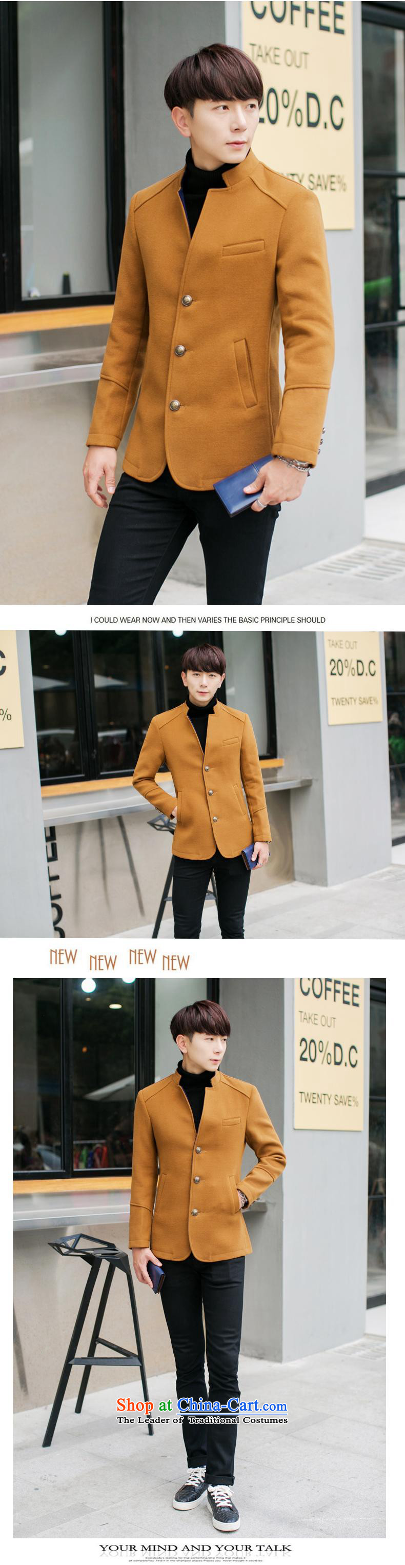The Korean version of winter K328I Sau San Mock-neck gross? men jacket Chinese tunic khaki 4XL Photo, prices, brand platters! The elections are supplied in the national character of distribution, so action, buy now enjoy more preferential! As soon as possible.