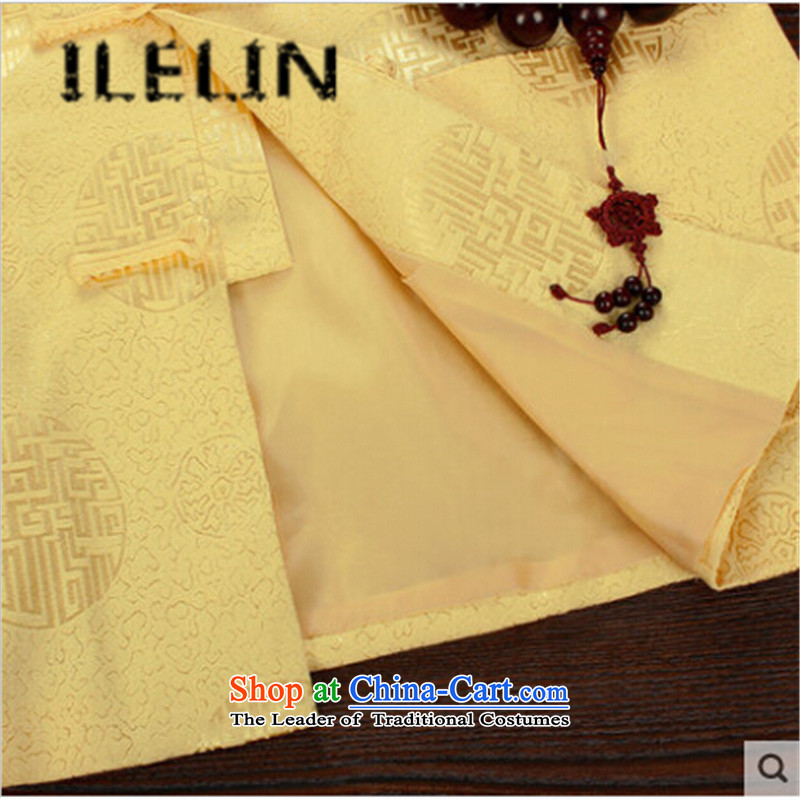 The fall of the new China ILELIN2015 wind men's father retro Tang jackets of older persons in the national costumes of Grandpa Chinese Dress Chinese red聽185,ILELIN,,, shopping on the Internet