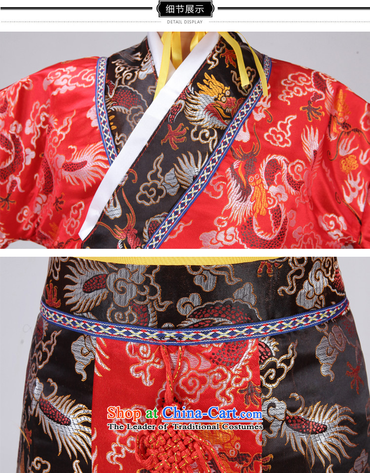 The Syrian children Han-time catching boy costume Will Tang Long Tang Dynasty Prince Edward King costumes and theatrical performances with yellow 150CM photo, prices, brand platters! The elections are supplied in the national character of distribution, so action, buy now enjoy more preferential! As soon as possible.