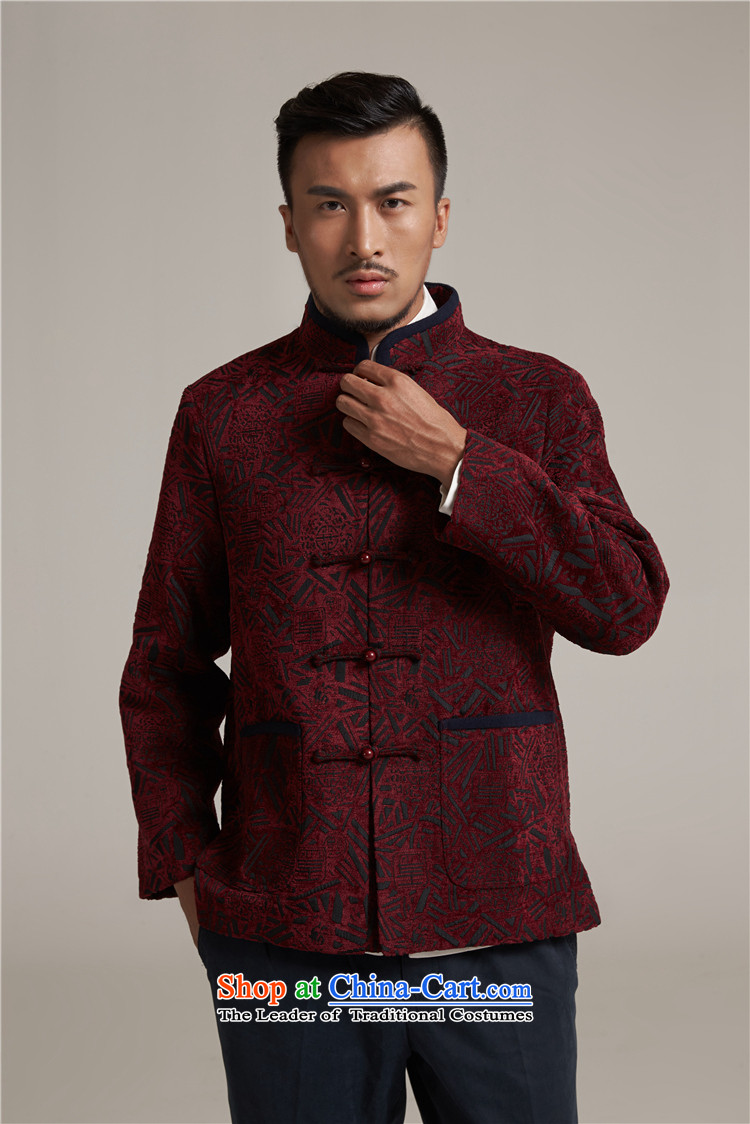 Fudo Hong Wai Tak聽2015 autumn and winter new products men Tang China Wind Jacket men older casual jacket China wind dark red聽2XL/180 picture, prices, brand platters! The elections are supplied in the national character of distribution, so action, buy now enjoy more preferential! As soon as possible.