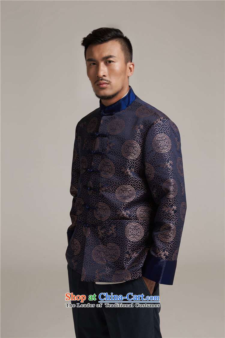 De Fudo his聽2015 autumn and winter new products men Tang dynasty China wind older men casual jacket China wind dark red聽2XL/180 picture, prices, brand platters! The elections are supplied in the national character of distribution, so action, buy now enjoy more preferential! As soon as possible.