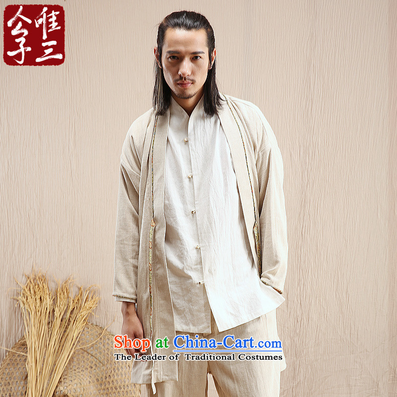 Cd 3 model of the Han Chinese Wind and Han Chinese Ma Tei linen coat leisure Tang Dynasty National Han-yi autumn wind MA聽175_92A_L_ color