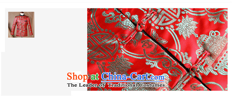 Phaedo of China FZOG/ autumn wind men Chinese wedding dress collar Sau San Tong jacket from Jewish men RED M picture, prices, brand platters! The elections are supplied in the national character of distribution, so action, buy now enjoy more preferential! As soon as possible.