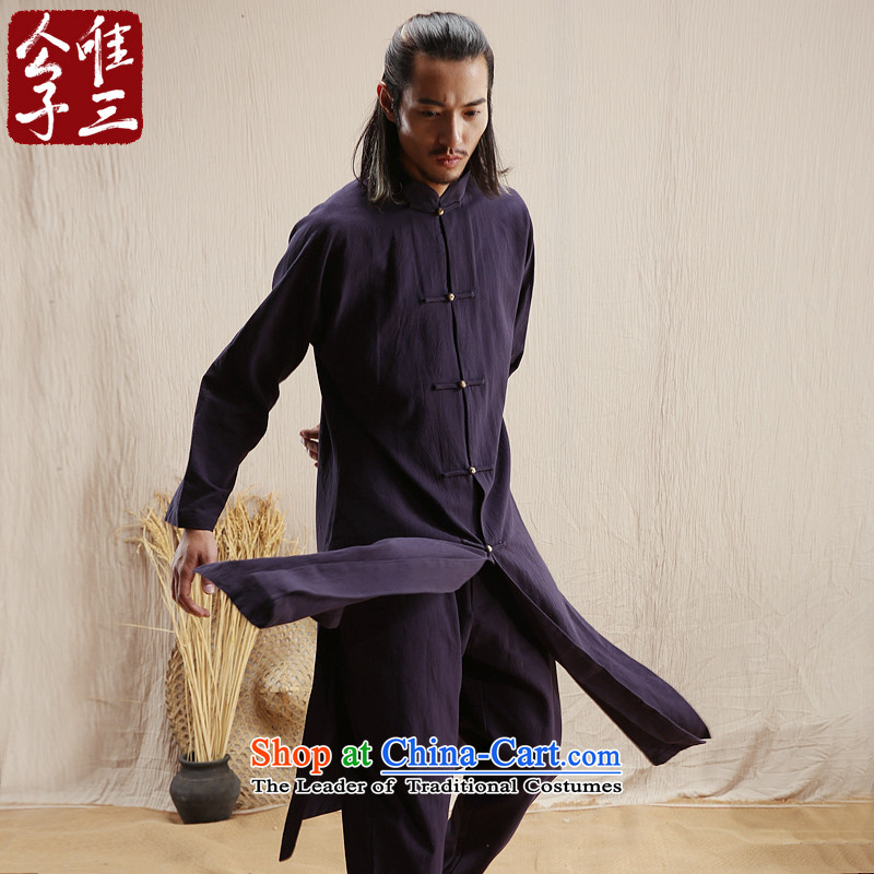 Cd 3 Model Hsiang China wind linen men Hon Ma Chinese jacket leisure Tang dynasty ethnic Han-windbreaker akikura Tsing聽170_88A_M_