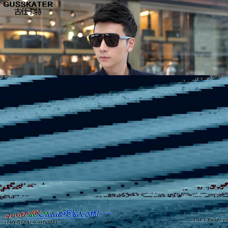 Mrs Shi Tang Dynasty Chinese tunic Carter Summer聽2015 Autumn on Men's Mock-Neck Chinese tunic jacket light jacket male聽B465 navy聽M happy times (鍙戝崡缇庡窞涔嬪) , , , shopping on the Internet