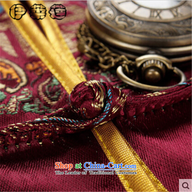 Hirlet Ephraim聽 2015 father replacing mother autumn couples Tang Dynasty Birthday Celebrated in life is too old Chinese shirt collar jacket stamp China Wind Jacket picture color male聽XXXL, Yele Ephraim ILELIN () , , , shopping on the Internet