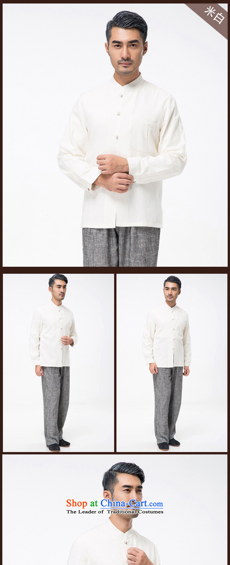 Thre line autumn and winter and new middle-aged men cotton linen collar Tang blouses from older pure color is detained Tang dynasty father replace national costume聽F7750聽ORANGE聽L/175 picture, prices, brand platters! The elections are supplied in the national character of distribution, so action, buy now enjoy more preferential! As soon as possible.
