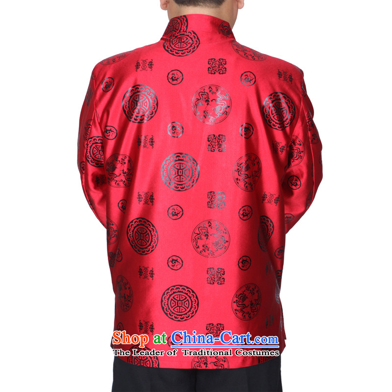 The Cave of the elderly 15 autumn and winter men red jacket older birthday tang Life Too banquet men S1502 cotton red plus 170 yards, the Cave of the elderly聽has been pressed shopping on the Internet