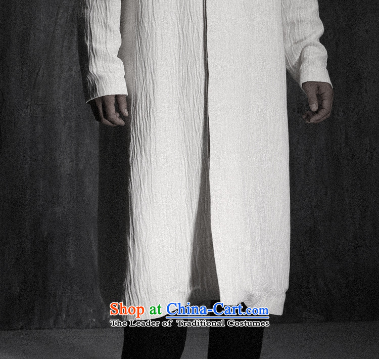Custom (Sui Tang as water tap beast/China wind minimalist long linen Tang jackets men fall new white pre-sale prices, pictures, M brand platters! The elections are supplied in the national character of distribution, so action, buy now enjoy more preferential! As soon as possible.